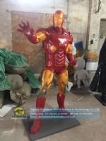 Cartoon character Iron Man Human Scale artificial sculpture DWC058-1