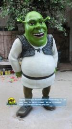 DreamWorks movie cartoon character model Fiberglass Shrek DWC064