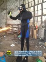 Handmade Animatronic diver model SeaWorld theme exhibition show DWC065