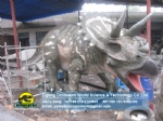 2015 Jurassic world fiberglass artificial triceratops DWD212