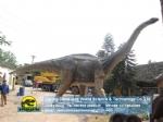 Jurassic world diberglass life size titanosaur dinosaur replica DWD211
