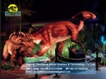 Large Machinery parasaurolophus is mounted dinosaur theme exhibition DWD1447
