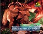 Dinosaur museum customized artificial machine albertaceratops DWD1505