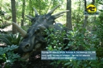 Dinosaur Park in the large-scale simulation dinosaur Styracosaurus DWD1334-1