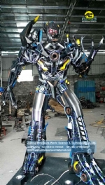 Transformers Movie Megatron replica model Decepticon DWT007