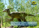 Artificial dinosaur parasaurolophus mechanical model DWD1449