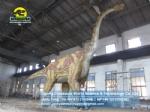 Jurassic Park used large electric simulation Brachiosaurus DWD218
