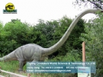 Large electric dinosaur theme park model Young Omeisaurus DWD1480