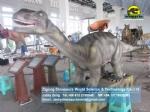 Dinosaur theme park rides animatronic mamenchisaurus ride DWE062