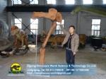 Dinosaur fossil museum's restoration model Mamengchisaurus Leg Bone ZD05