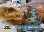 Theme Park Playground Iguanodon Attacked By Three Raptors DWD240